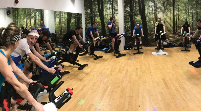 Winter spin sessions